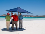 Morning Tea at Lucky Bay, Esperance