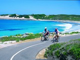 Recreation Cycling along Blue Haven, Esperance